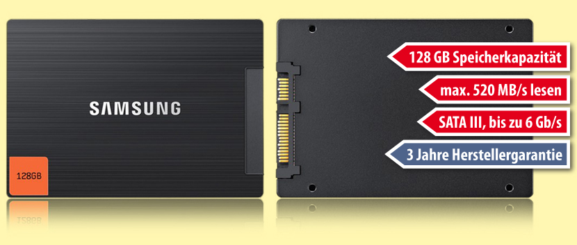 128 GB SSD, Samsung SSD 830 Series