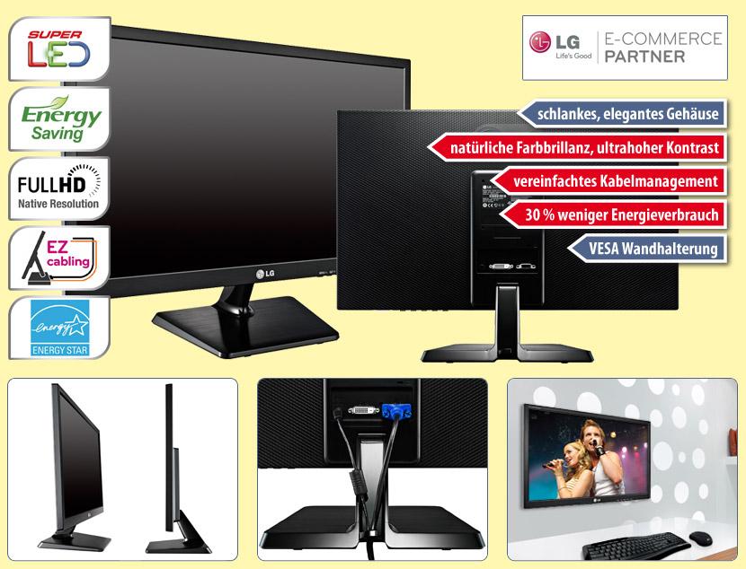 Flachbildschirm LG E2242T mit LED-Backlight